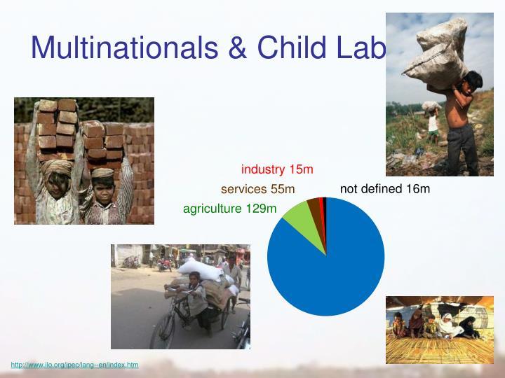 Multinationals & Child Labour