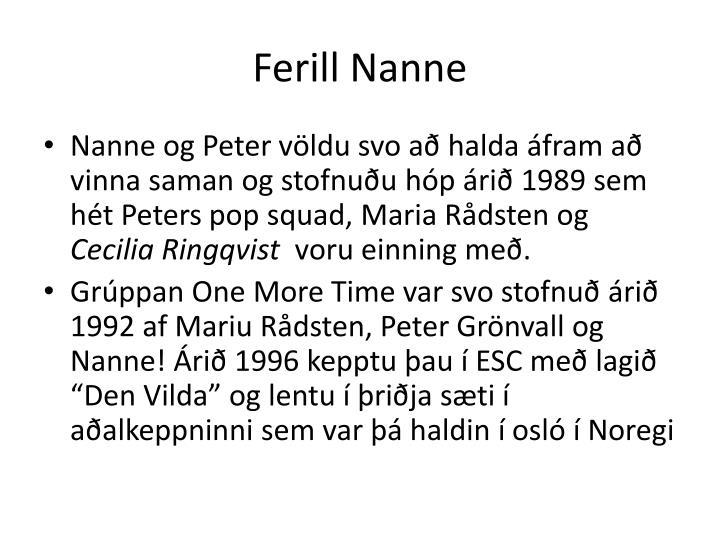 Ferill