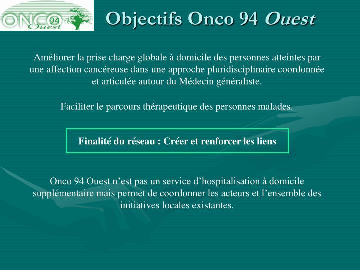 Objectifs Onco 94