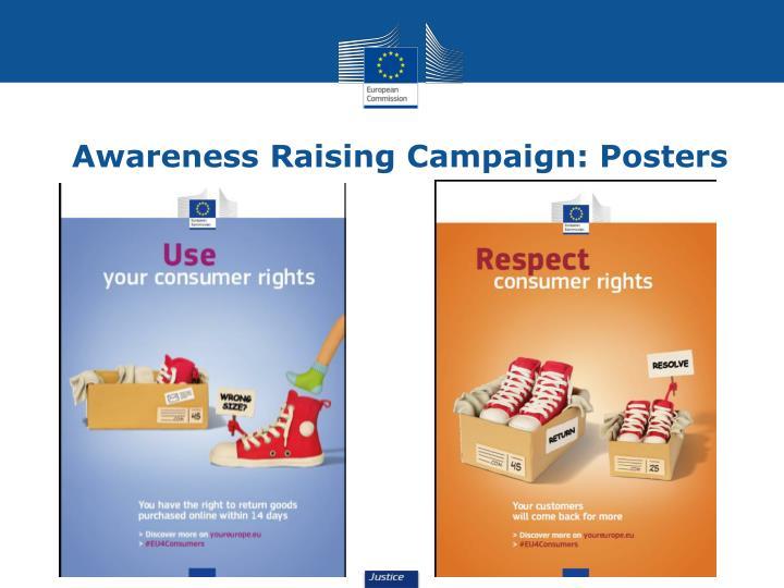 Awareness Raising Campaign: Posters