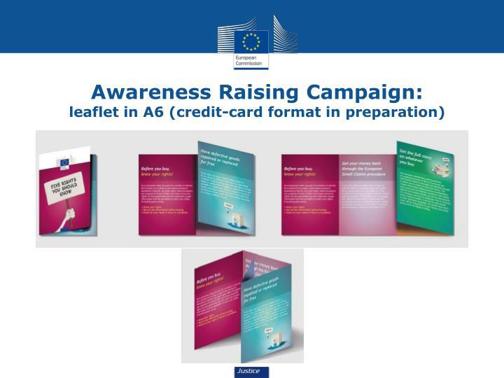 Awareness Raising Campaign: