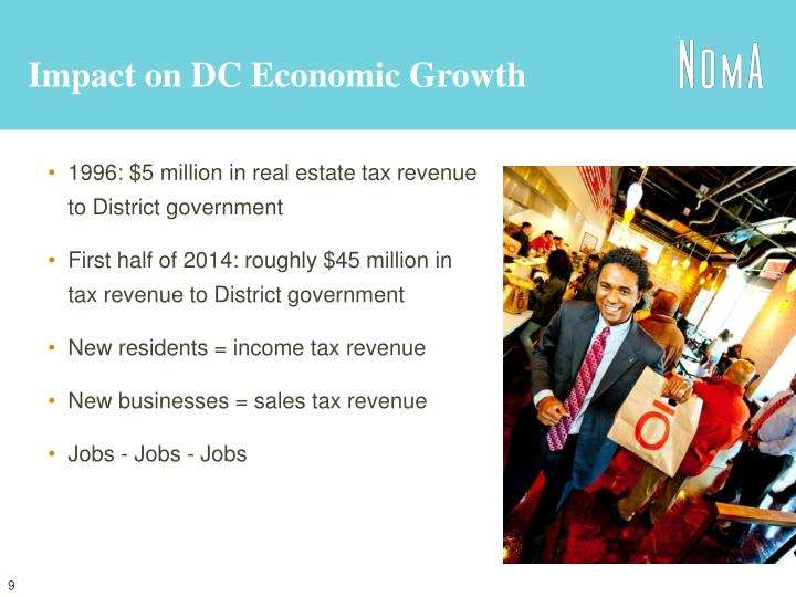 Impact on DC Economic Growth
