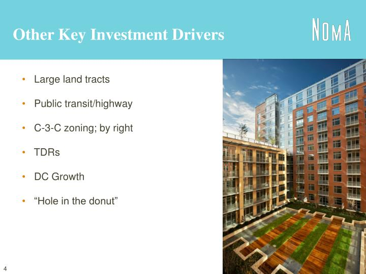 Other Key Investment Drivers