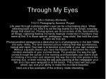 through my eyes1
