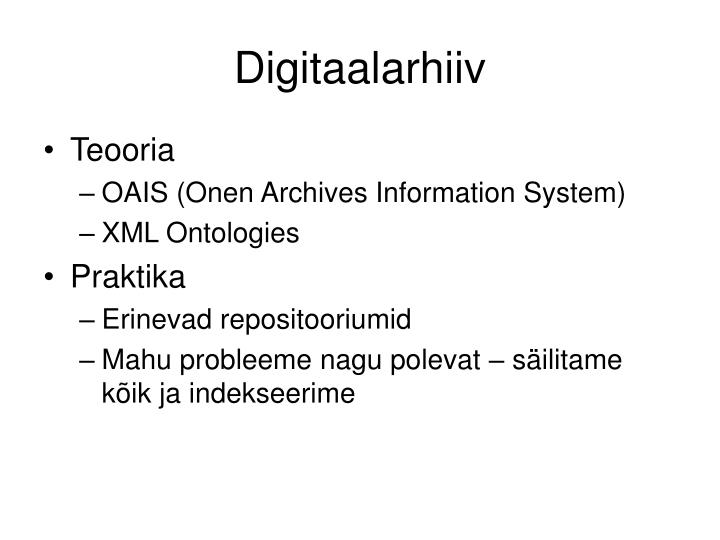 Digitaalarhiiv