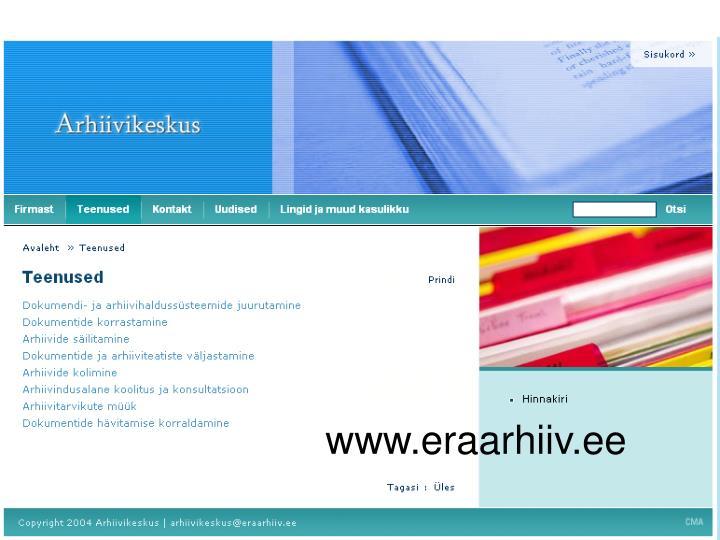 www.eraarhiiv.ee