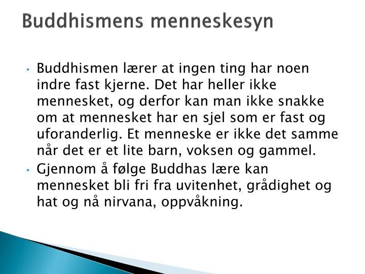 Buddhismens menneskesyn