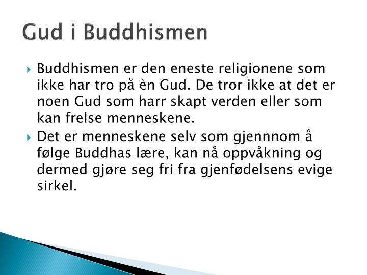 Gud i Buddhismen