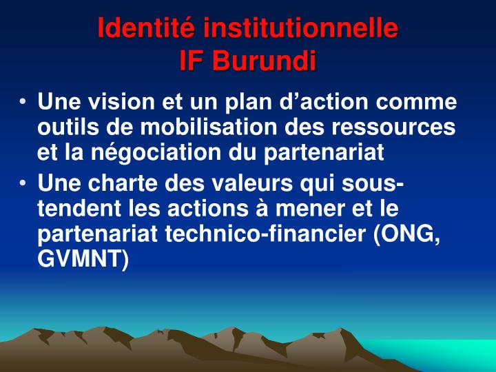Identité institutionnelle