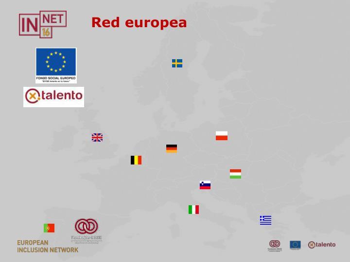 Red europea