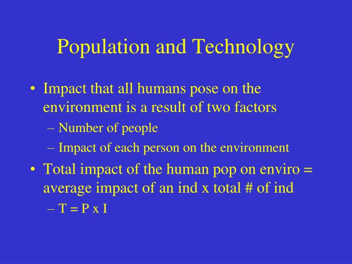 the effect of overpopulation on environment