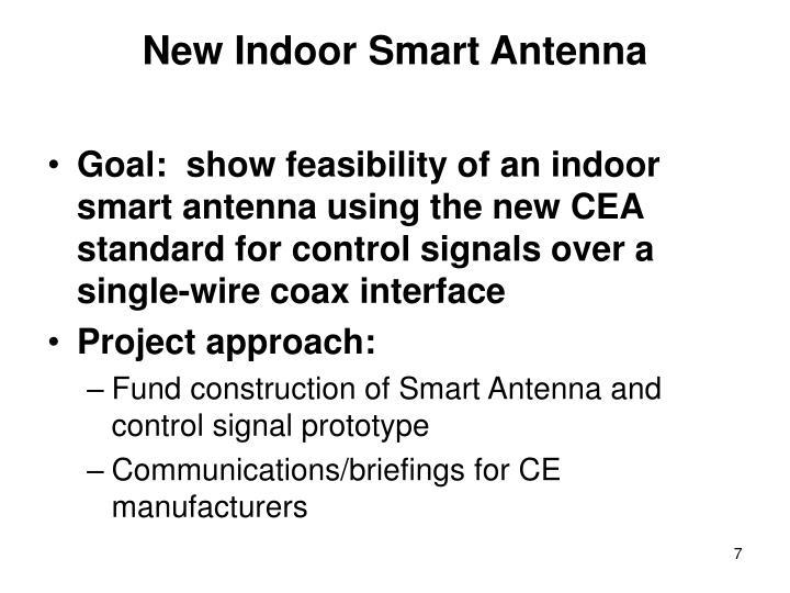 New Indoor Smart Antenna