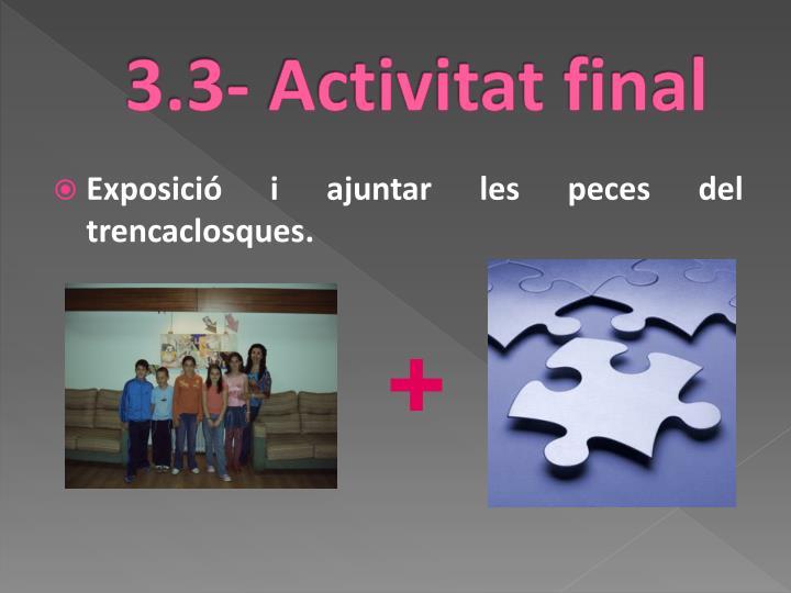 3.3- Activitat final