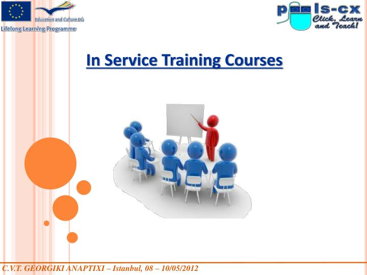 In Service Training Courses