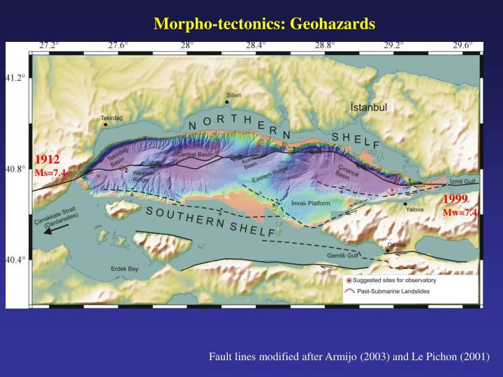 Morpho-tectonics: Geohazards