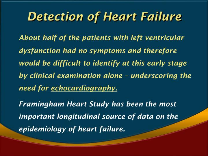 Detection of Heart Failure