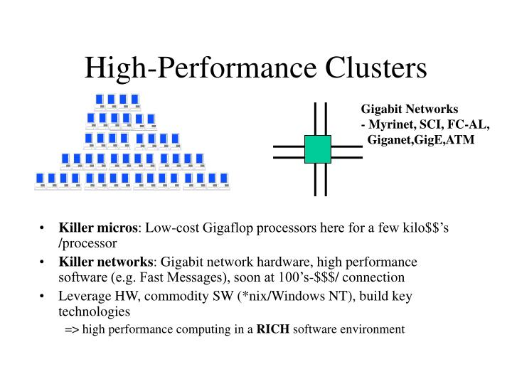 High-Performance Clusters