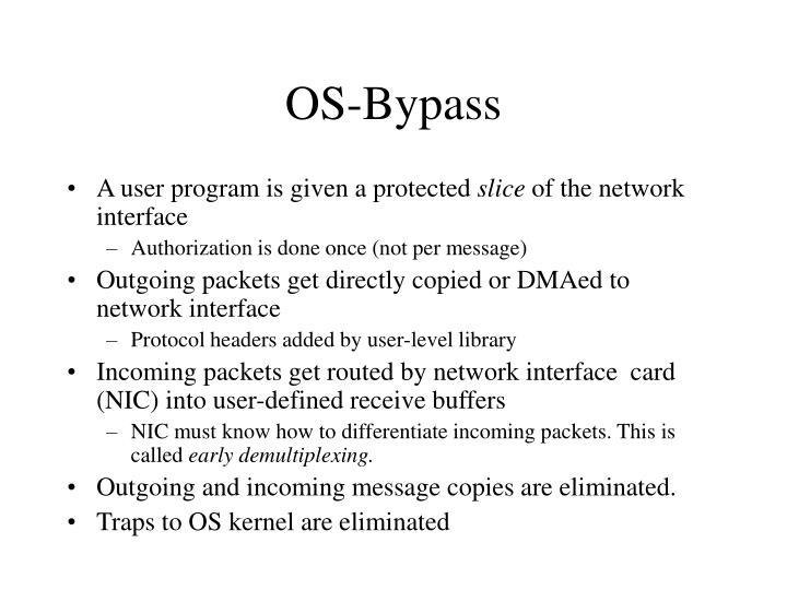OS-Bypass