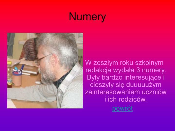 Numery