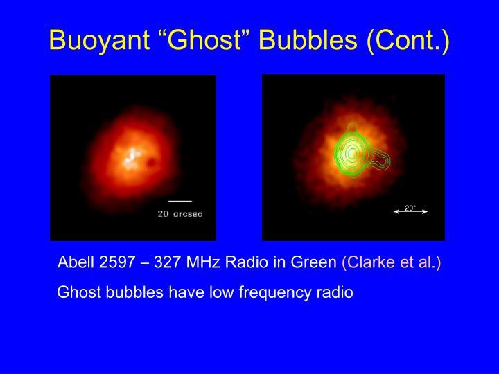 "Buoyant ""Ghost"" Bubbles (Cont.)"