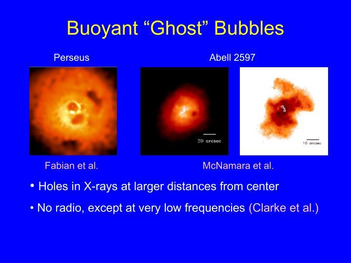 "Buoyant ""Ghost"" Bubbles"