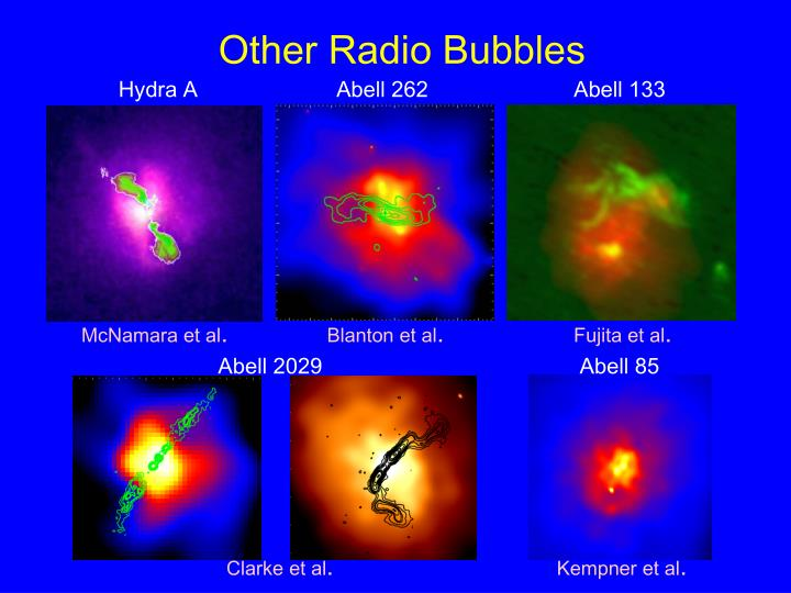 Other Radio Bubbles