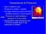 temperatures pressures1