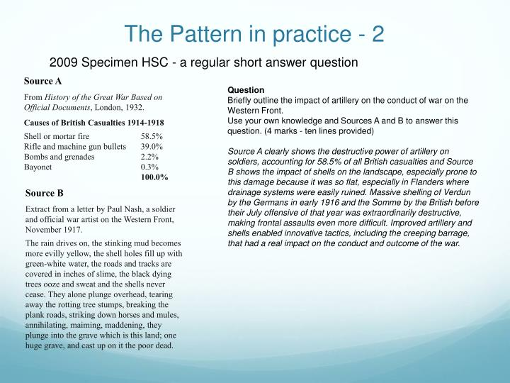 The Pattern in practice - 2