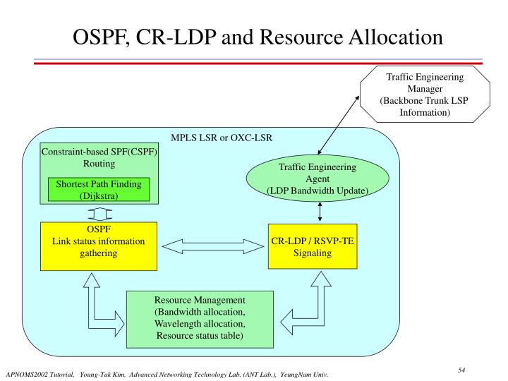 MPLS LSR or OXC-LSR