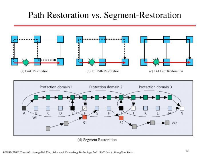 (a) Link Restoration