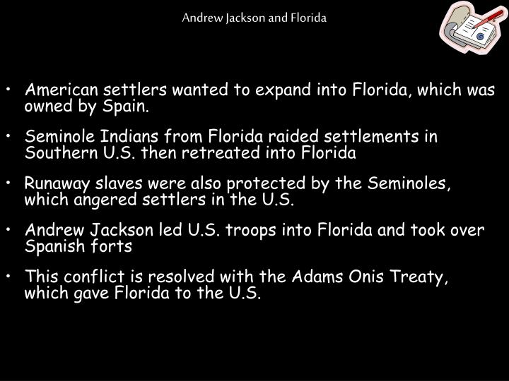 Andrew Jackson and Florida