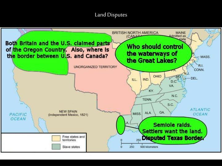 Land Disputes
