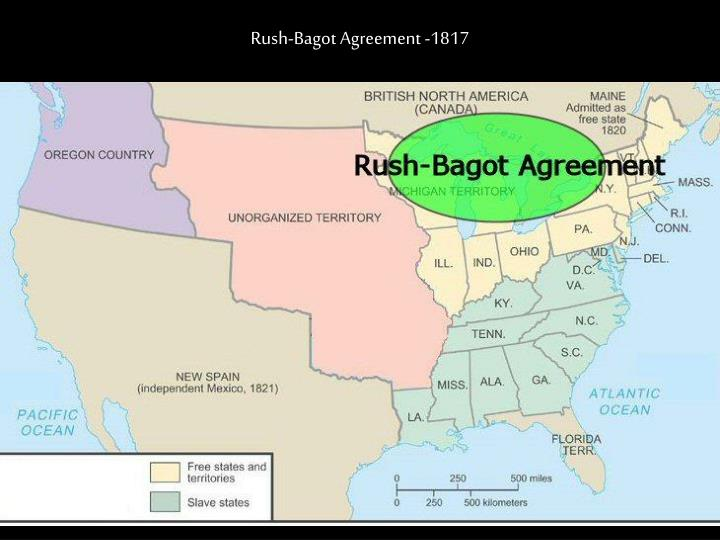 Rush-Bagot Agreement -1817
