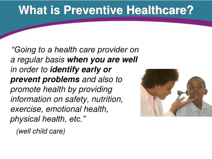 What is Preventive Healthcare?