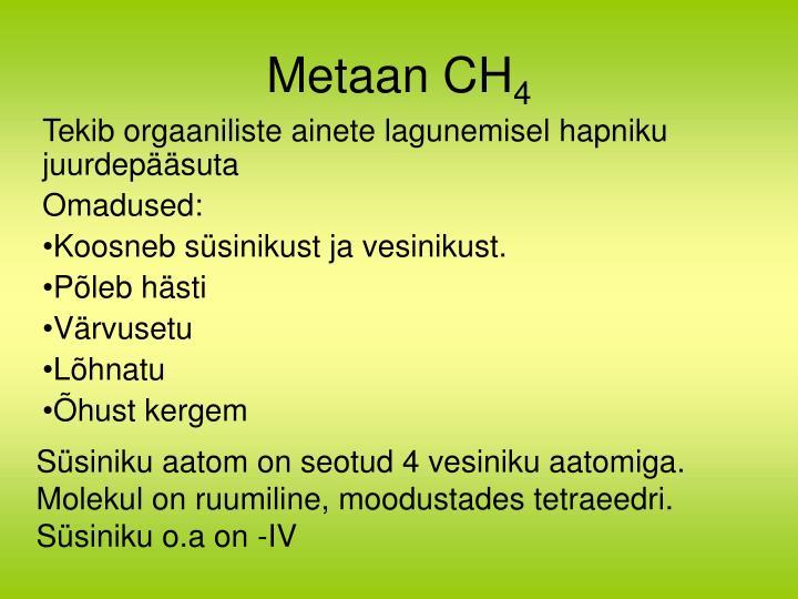 Metaan CH