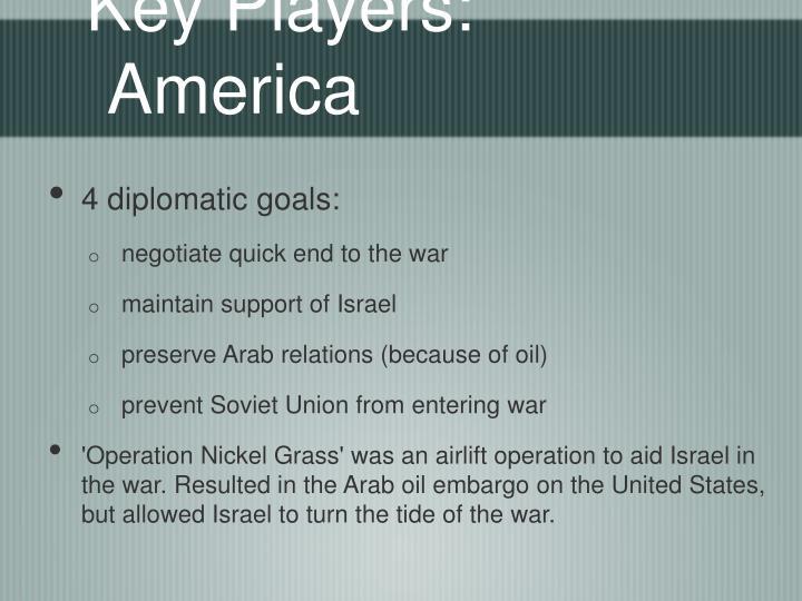 Key Players: America