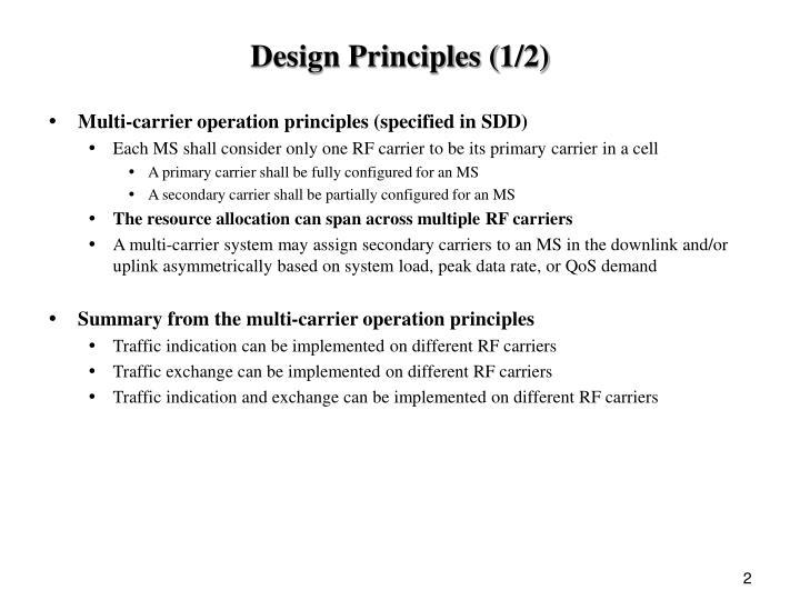 Design Principles (1/2)