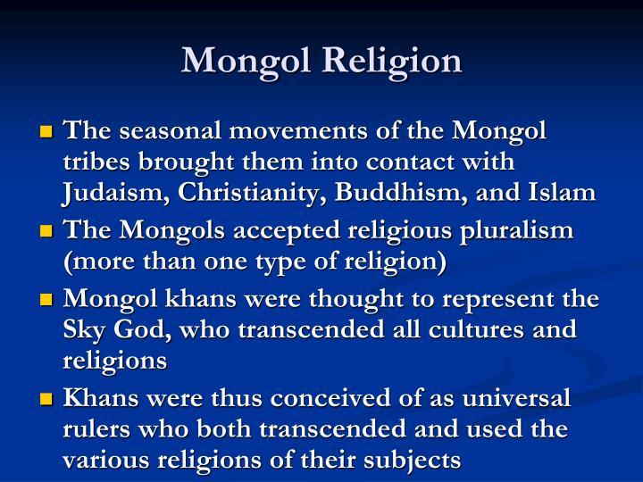 Mongol Religion