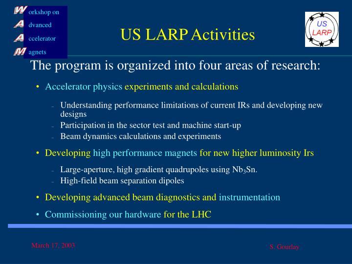 US LARP Activities