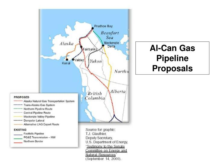Al-Can Gas Pipeline Proposals