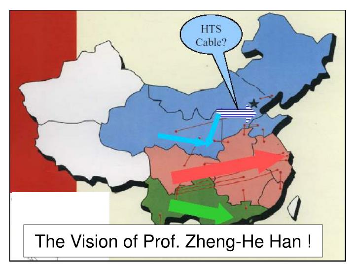 The Vision of Prof. Zheng-He Han !