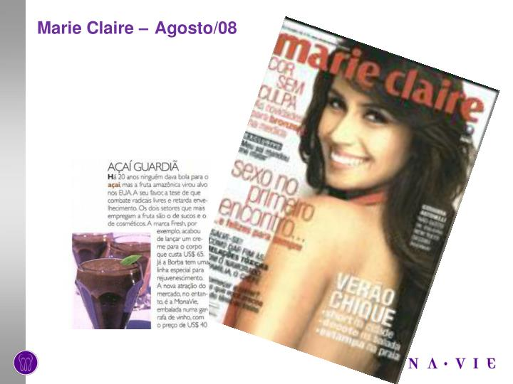 Marie Claire –