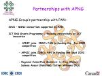 partnerships with apng