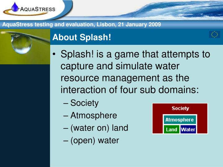 About Splash!