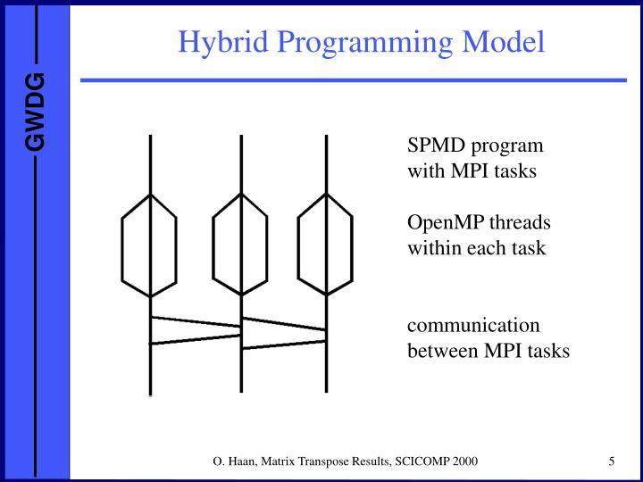 Hybrid Programming Model