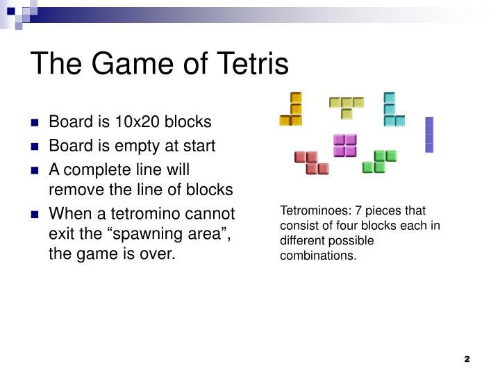 The Game of Tetris