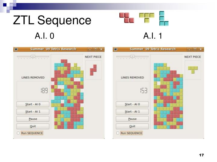 ZTL Sequence