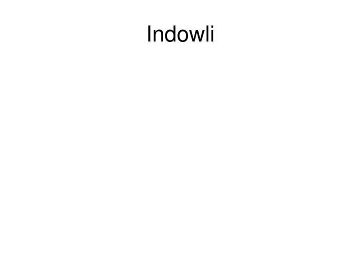 Indowli