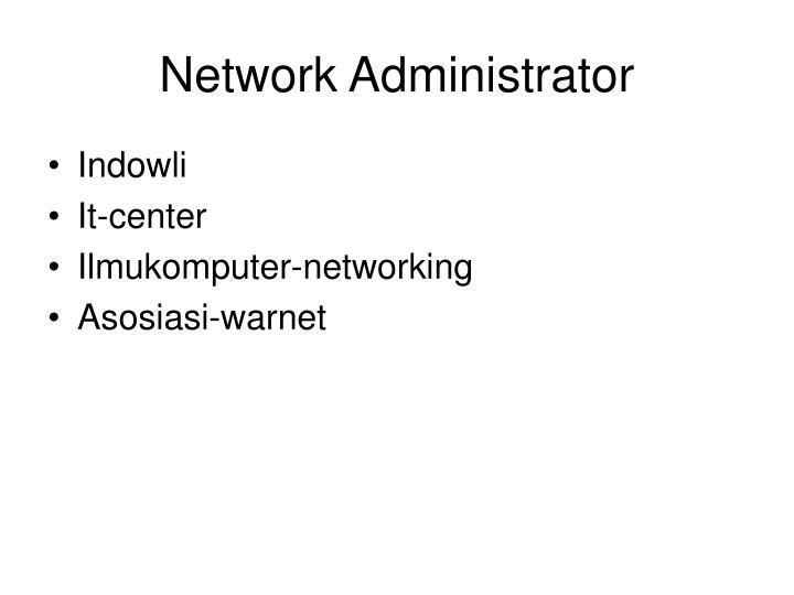 Network Administrator