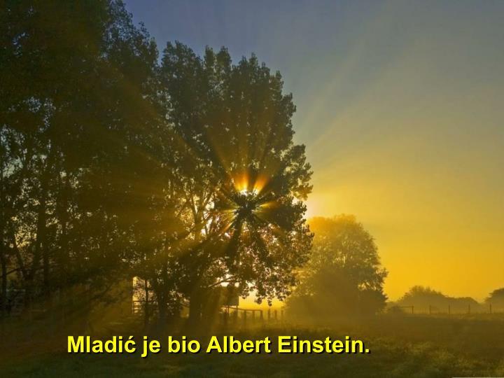Mladić je bio Albert Einstein.